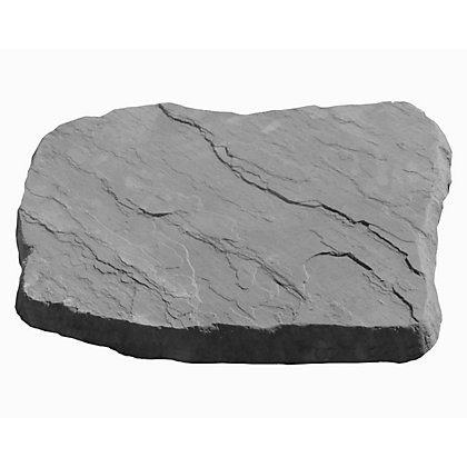 Image for Brett Charcoal Stepping Stone - 450mmx300mm from StoreName