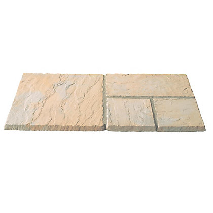 Image for Brett Avebury Paving Mixed Size Patio Pack 5.63sq m 25 Pack - Rustic from StoreName