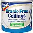 Polycell Crack Free Ceilings Silk Pure Brilliant White - 2.5L