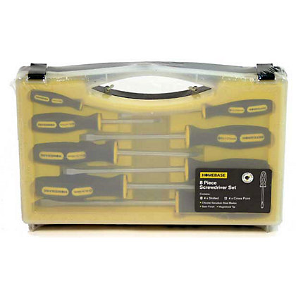 Image for Screwdriver Set - 8 Pieces from StoreName