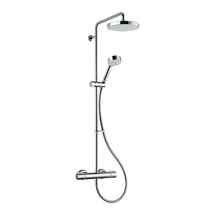 Image for Mira Atom Mixer Shower with Diverter - Chrome from StoreName