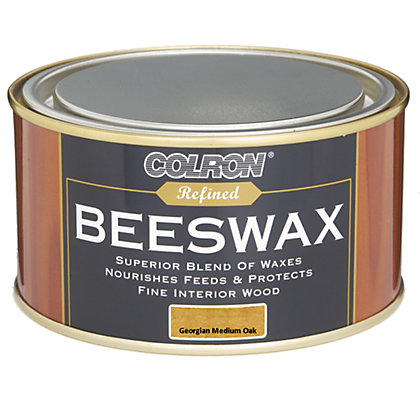 Image for Colron Refined Beeswax - Georgian Medium Oak - 400g from StoreName