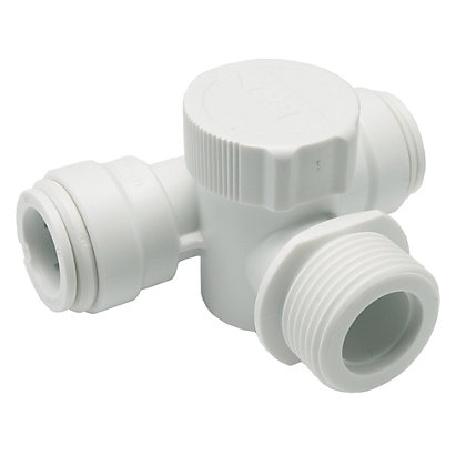 Image for JG Speedfit 15mm Appliance Tee White from StoreName