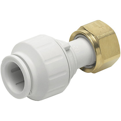 Image for JG Speedfit 15mm x 1/2 Female Tap Connector White from StoreName