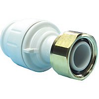 Speedfit Straight Tap Connector 22mm x 3/4inch