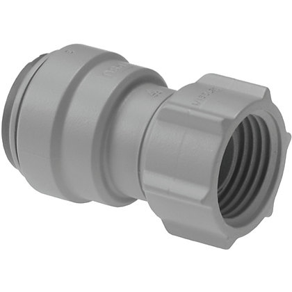 Image for JG Speedfit 22mm x 3/4 Female Tap Connector Grey from StoreName
