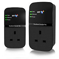 BT Flex 500 Powerline Broadband Extender Kit