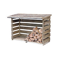 Forest Large Log Store - 6ft x 2ft 10in