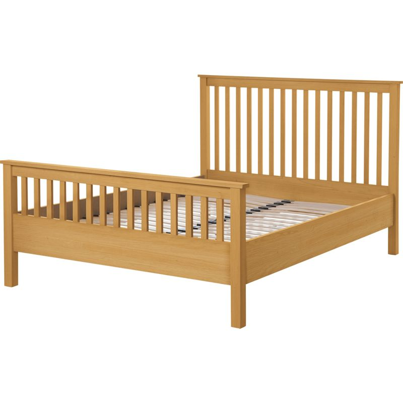 Wiltshire King Size Bed Frame Oak