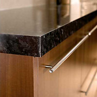 Homebase Worktops - 3m Edging Strip - Everest Gloss