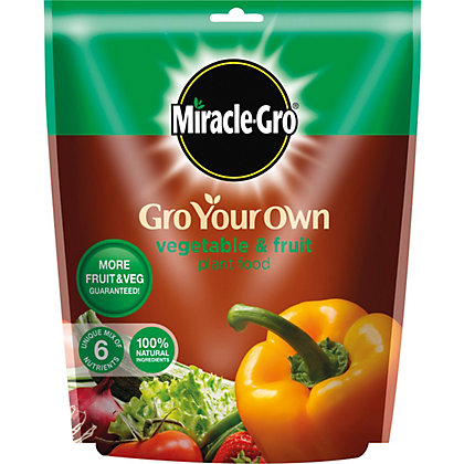 Image for Miracle-Gro Gro Your Own Vegetable & Fruit Plant Food - 1.5Kg from StoreName