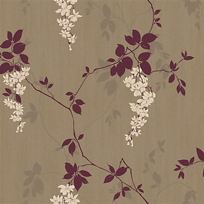 Vintage fucsia wallpaper imagui for Wallpaper homebase