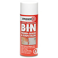 Zinsser BIN Primer Sealer - Clear - 390ml