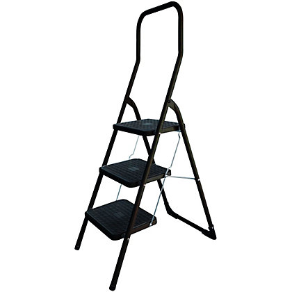 Image for Abru 3 Step High Handrail Stepstool from StoreName