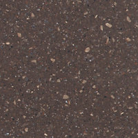 Minerva Cocoa Brown Kitchen Worktop - 150 x 60 x 2.5cm