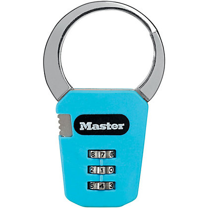 Image for Master Lock 1550EURDCOL Combination Snap Hook lock from StoreName