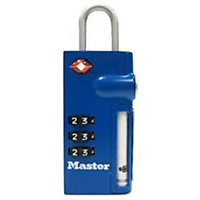 Master Lock 4693EURDBLU 44mm Address Lock Blue