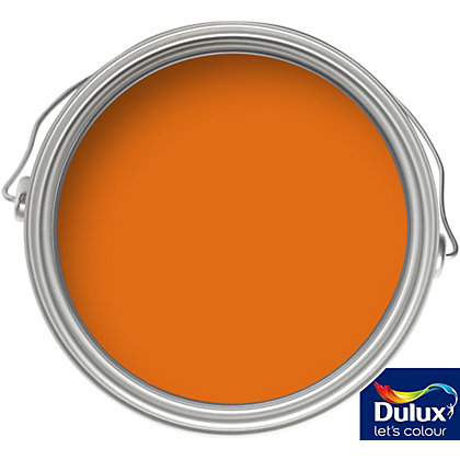 Image for Dulux Orange Fizz - Quick Dry Gloss - 750ml from StoreName