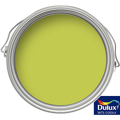 Image for Dulux Luscious Lime - Quick Dry Gloss - 750ml from StoreName