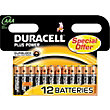 Duracell Plus Power AAA - 12 Pack