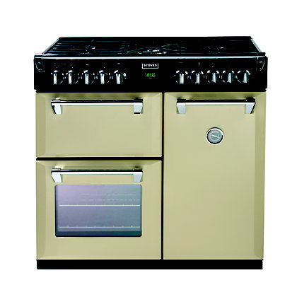 Image for Stoves Richmond 900DFT Dual Fuel Range Cooker -Champagne. from StoreName