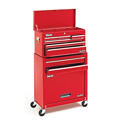Image for Clarke CTC800B 8 Drawer Chest from StoreName