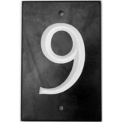 Image for Slate Number Tile- Number 9 from StoreName