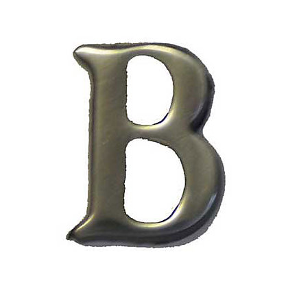 Image for Self-Adhesive Door Number - Aluminium - B from StoreName