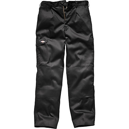 Image for Dickies Redhawk Super Work Trousers - Black 30R from StoreName