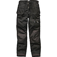Dickies Eisenhower Multi-pocket Trousers-Black 34R
