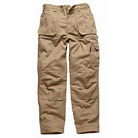Dickies Eisenhower Multi-pocket Trousers-Khaki 32R