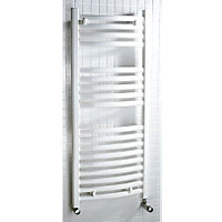 Tuscana Heated Towel Rail - White 800 x 600mm