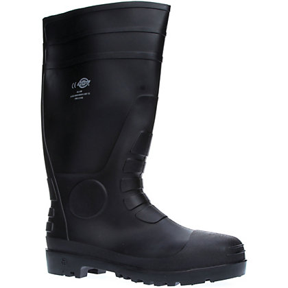 Image for Dickies Super Safety Wellington - Black 9 from StoreName