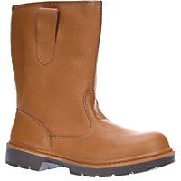 Dickies Super Safety Lined Rigger Boot - Tan 8