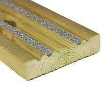 Decking boards and tiles composite and wood at homebase for Non wood decking boards