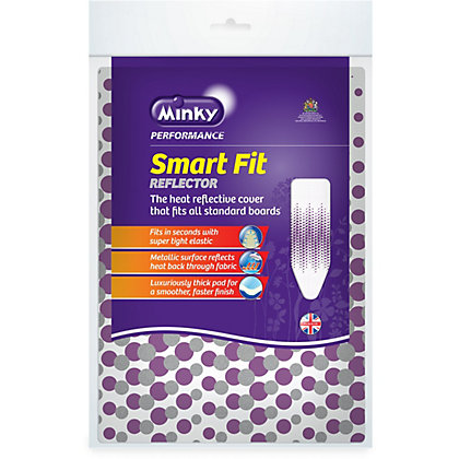 Image for Minky Smart Fit Reflector Ironing Board Cover from StoreName