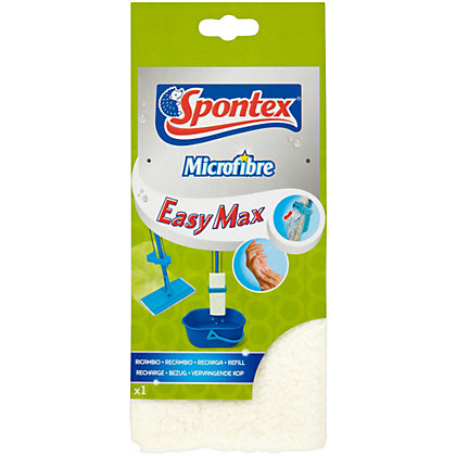 Image for Spontex Easy Microfibre Flat Mop Refill from StoreName