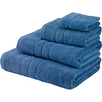 Hand Towel Zero Twist Cotton - China Blue