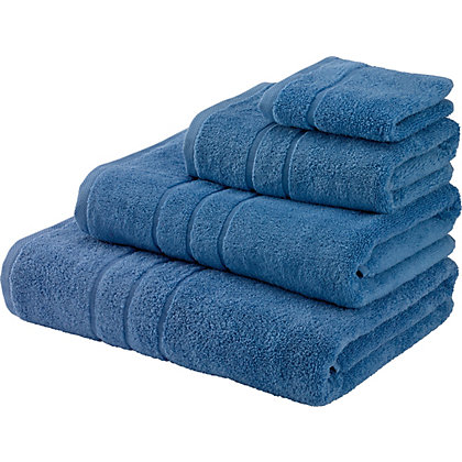 Image for Bath Sheet Zero Twist Cotton - China Blue from StoreName