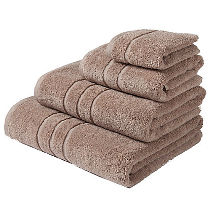 Image for Bath Towel Zero Twist Cotton - Stone from StoreName