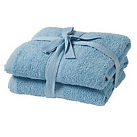 2 Piece Hand Towel Bale - Sky Blue