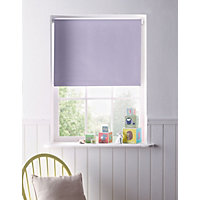 Home of Style Lilac Blackout Roller Blind - 90cm