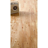 Solid Wood Parawood Flooring - 1 sq m