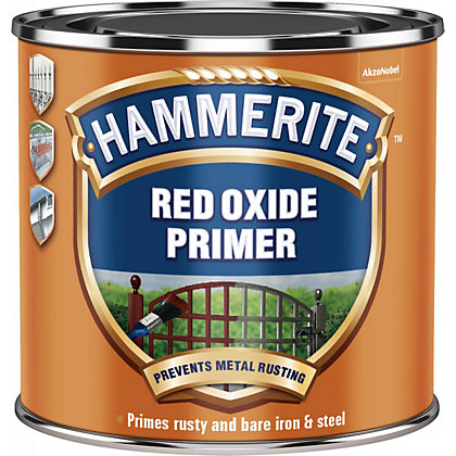 Image for Hammerite Red Oxide Metal Primer - 500ml from StoreName