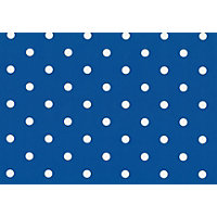 Fablon Sticky Back Plastic - Polka Dot Blue
