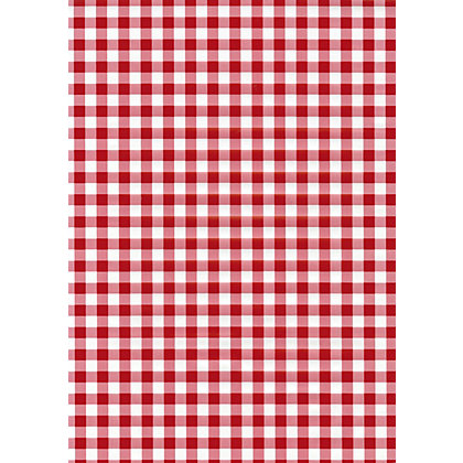Image for Fablon Sticky Back Plastic - Red Gingham from StoreName