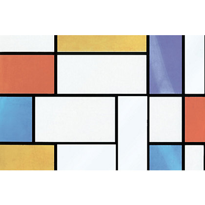 Image for Fablon Sticky Back Plastic - Mondrian from StoreName