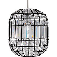 Beaded Cage Easy Fit Pendant - Antique Brass
