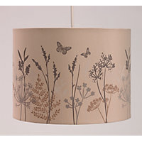 Hedgerow Print Shade - Brown