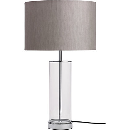 Image for Grace Table Lamp - Light Grey from StoreName
